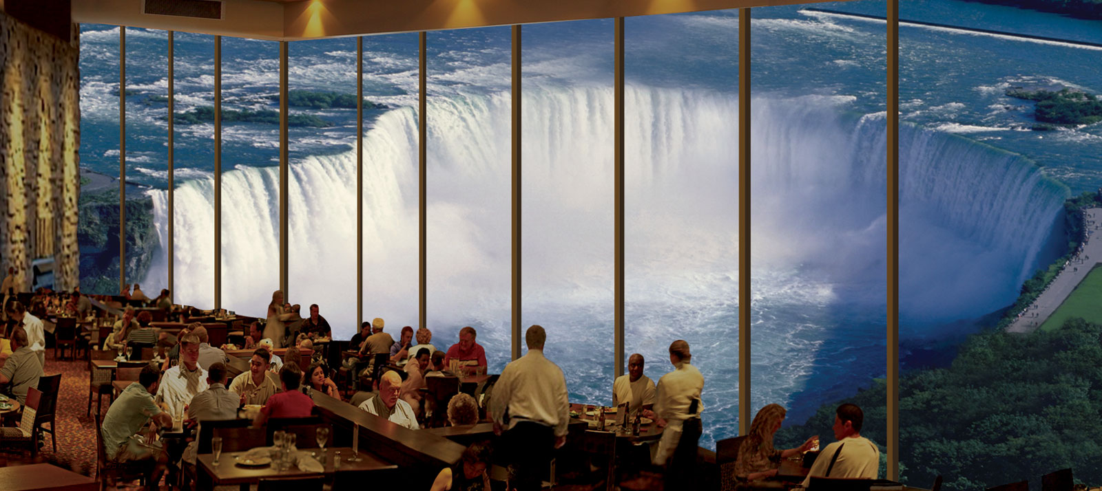 Dine overlooking Niagara Falls - Embassy Suites by Hilton Niagara Falls - Fallsview Hotel, Canada