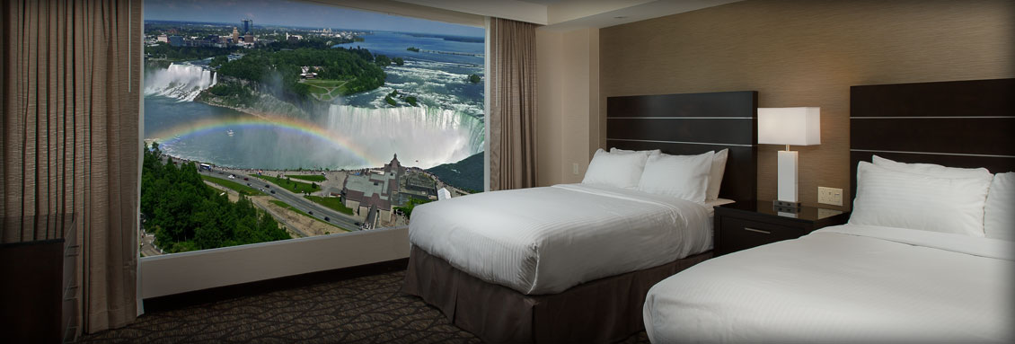 Two Queen Bedroom Suite - Embassy Suites by Hilton Niagara Falls - Fallsview Hotel, Canada