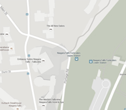 Map - Embassy Suites by Hilton Niagara Falls - Fallsview Hotel, Canada