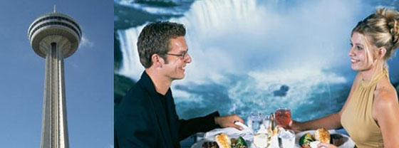 Embassy Suites by Hilton Niagara Falls - Fallsview Hotel, Canada - Skylon Tower Revolving Fallsview Dinner Package