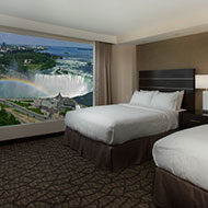 Embassy Suites by Hilton Niagara Falls Fallsview - 2 Queen Beds - Canadian & US Fallsview Suite - 28th - 36th Floor