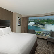 Embassy Suites by Hilton Niagara Falls Fallsview - 2 Room Presidential Suite - 1 King Bed - Whirlpool - Canadian & US Fallsview - 16th - 36th Floor